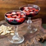 Strawberry Red Wine Punch