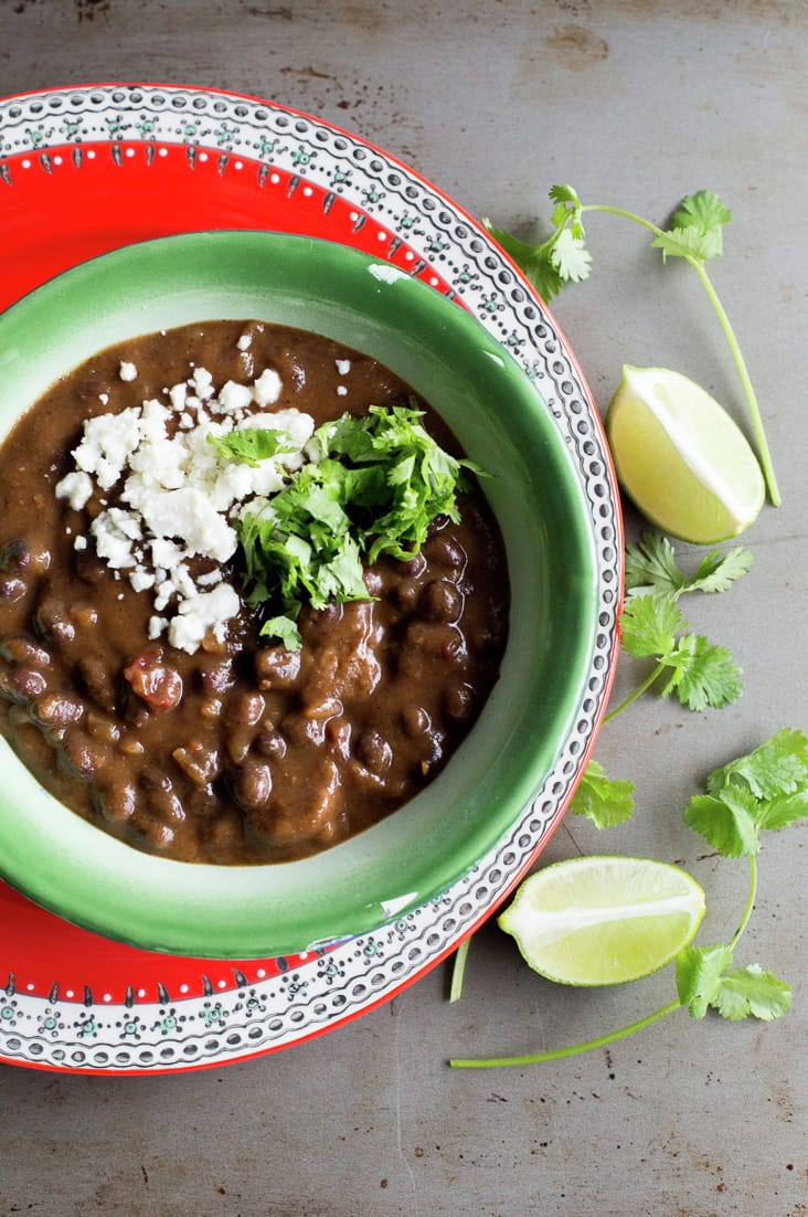 Chipotle Black Bean Chili with Chorizo. A delicious and hearty recipe with @bushsbeans #ad