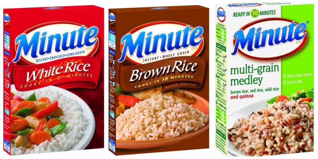 Minute® Rice products