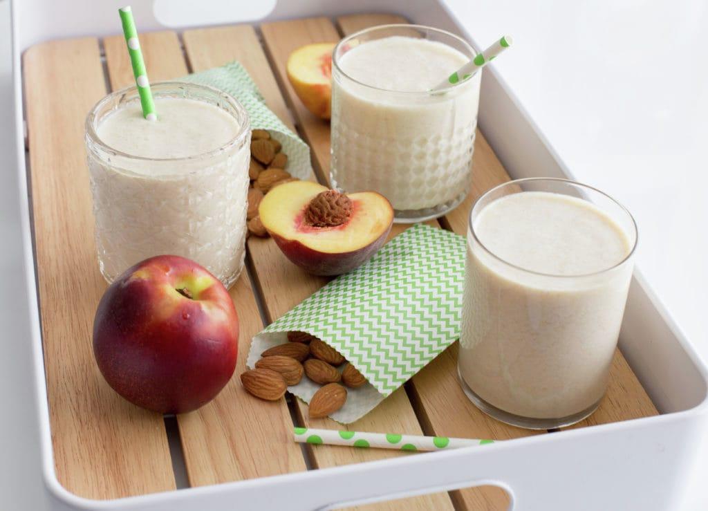 Milk with Peaches, Chilean drink