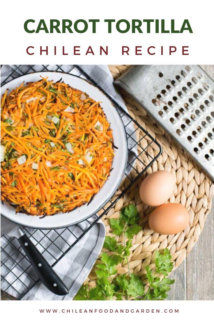 Carrot Frittata - Tortilla de Zanahoria