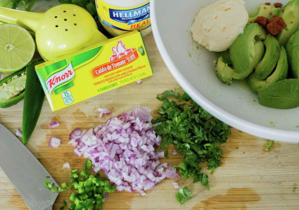 Guacamole cremoso