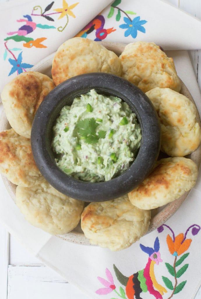 Chapalele con guacamole cremoso #PruebaElSaborDeKnorr