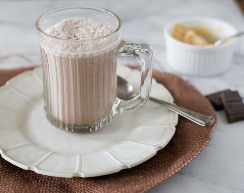 Chocolate Dulce de Leche Granita