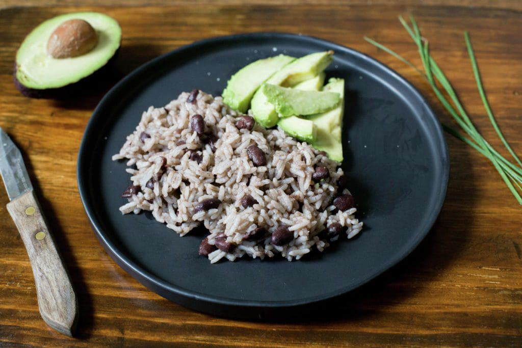 Cuban Black Beans with Rice
