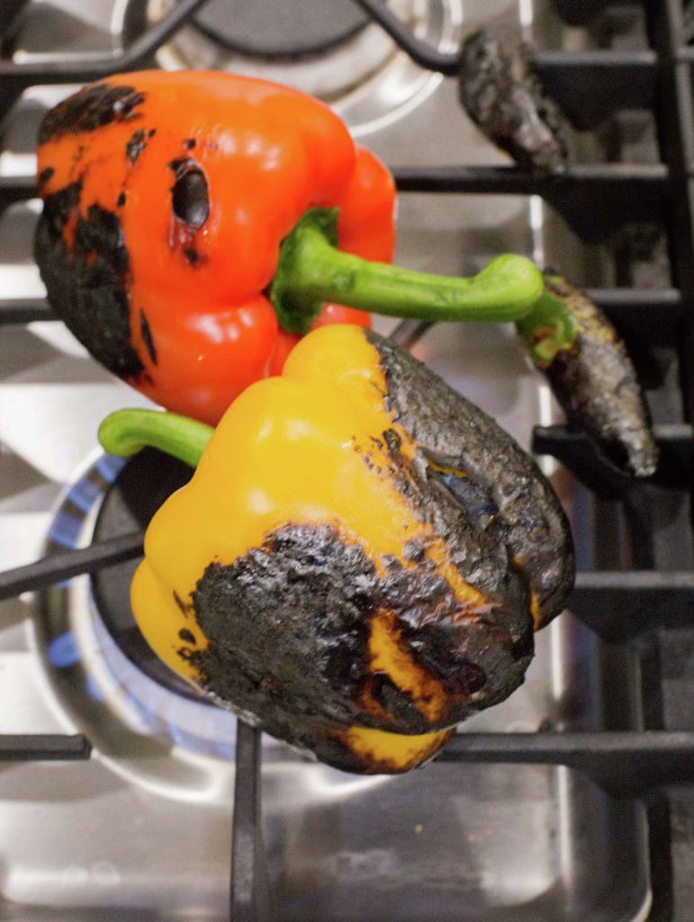 Fire Grilled Peppers