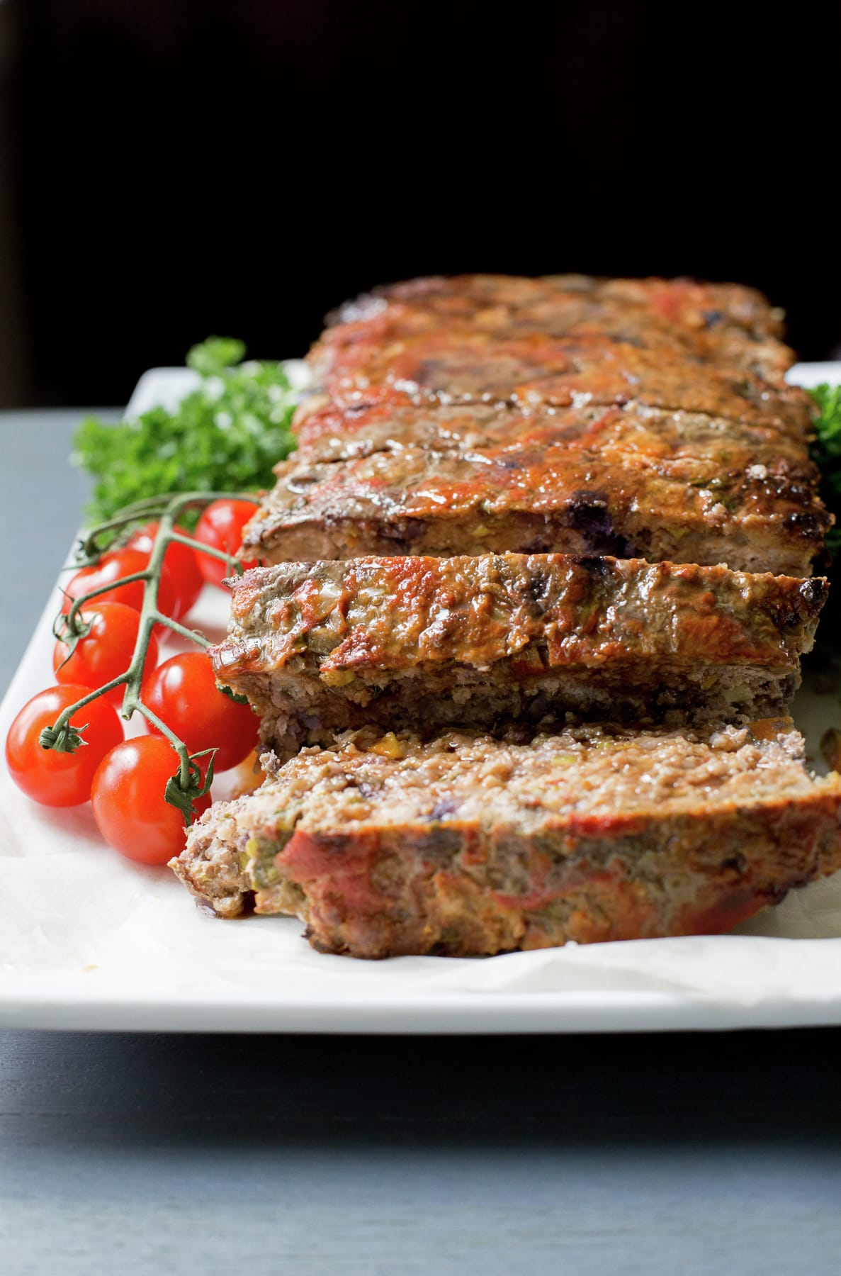 Healthy Meatloaf with Chard