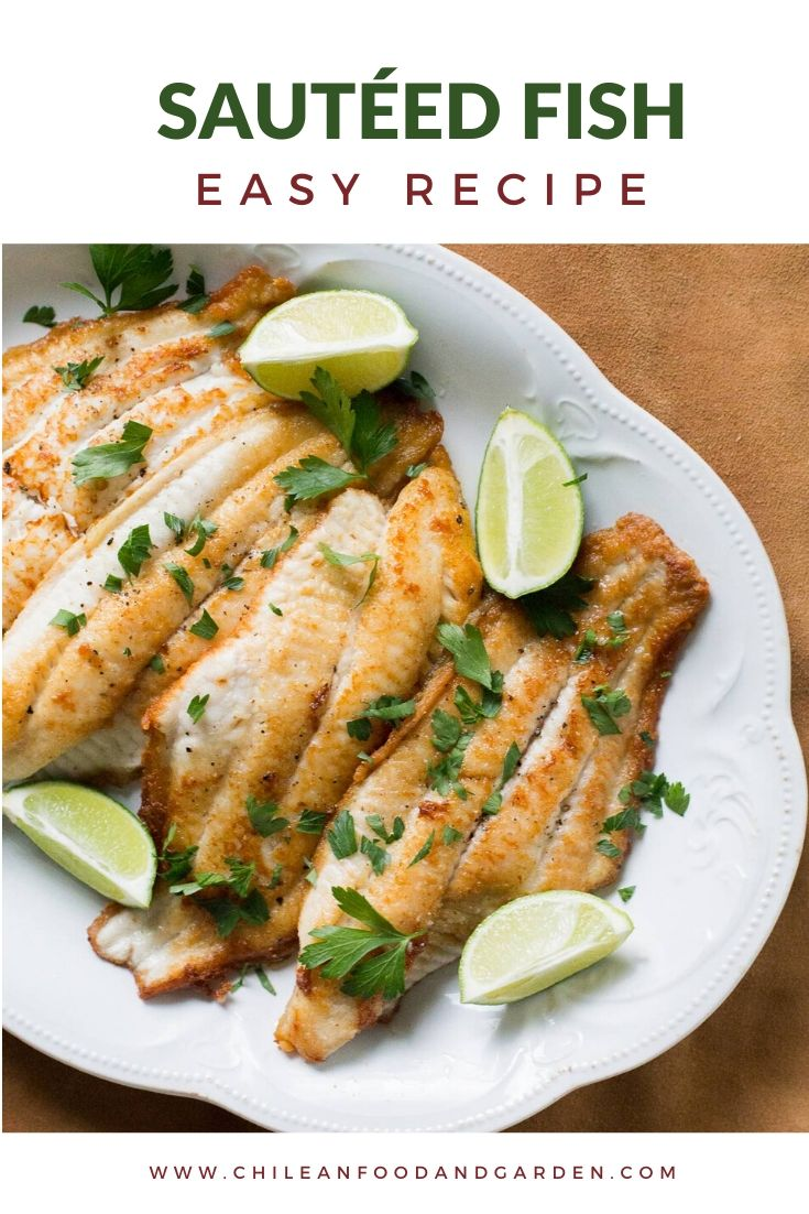 Sautéed White Fish