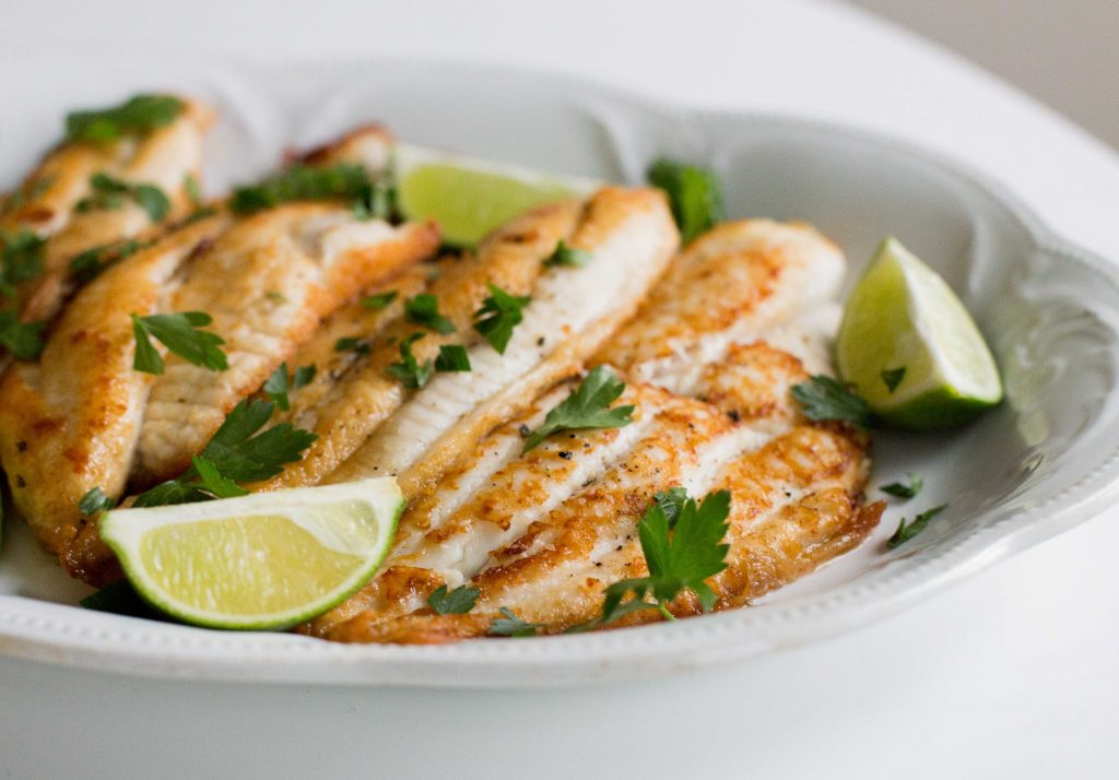Sauteed White Fish