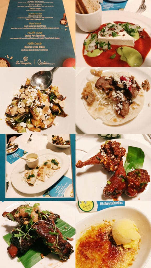 Cena La Vaquita, Americas restaurant #lavaquitacrumbles
