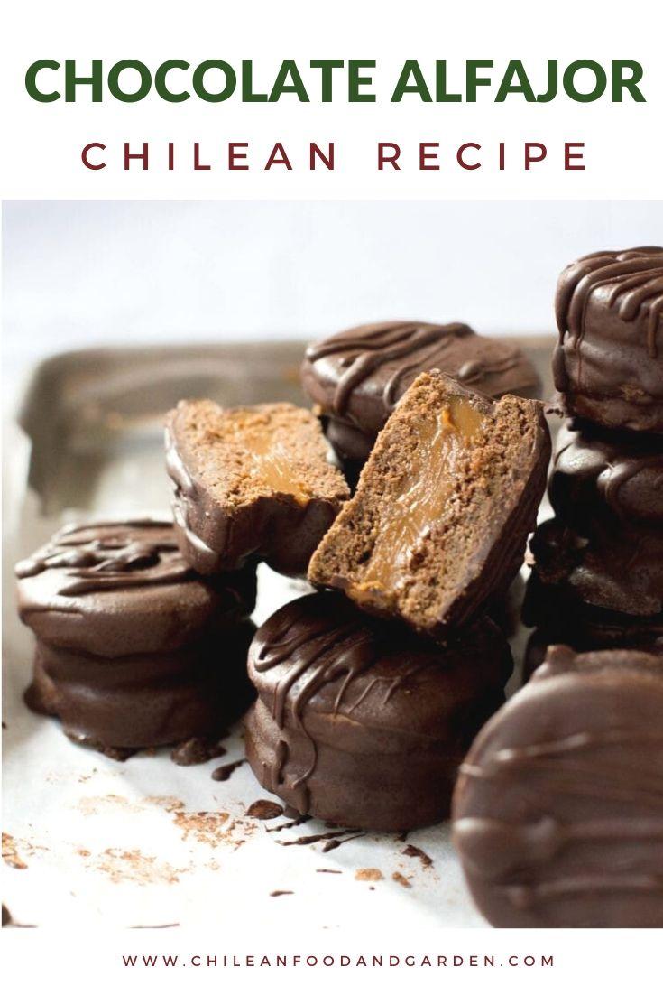 Chocolate Alfajor - Chilean Recipe