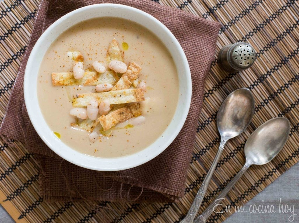 Cream of Beans Soup