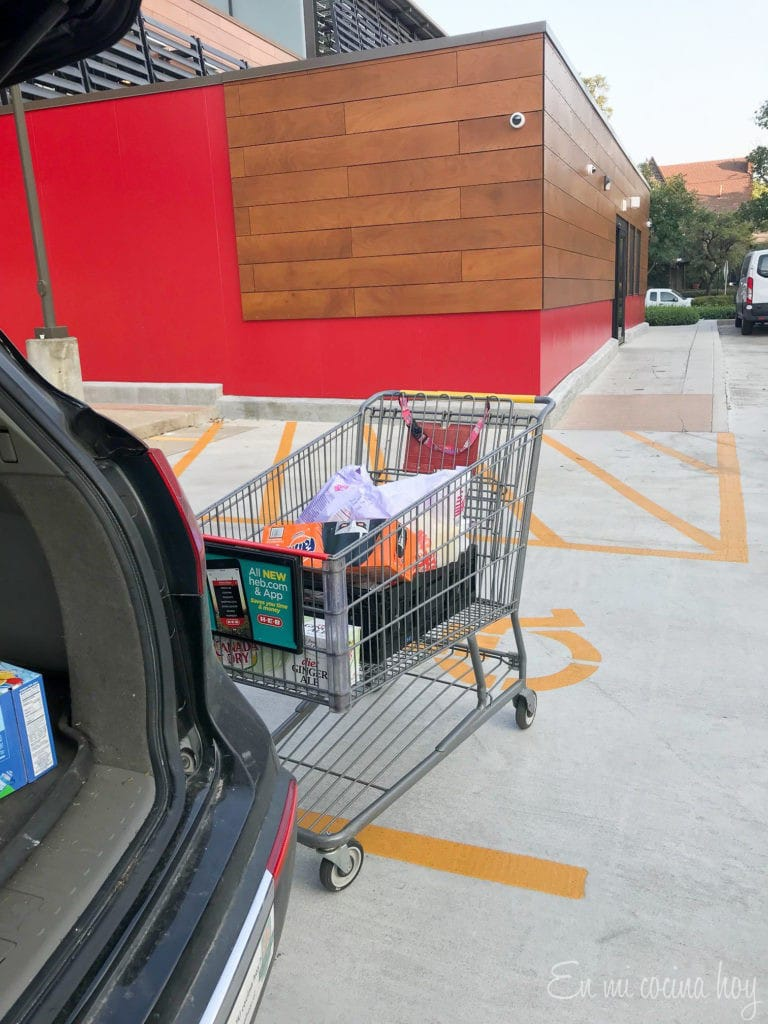 HEB Curbside Service