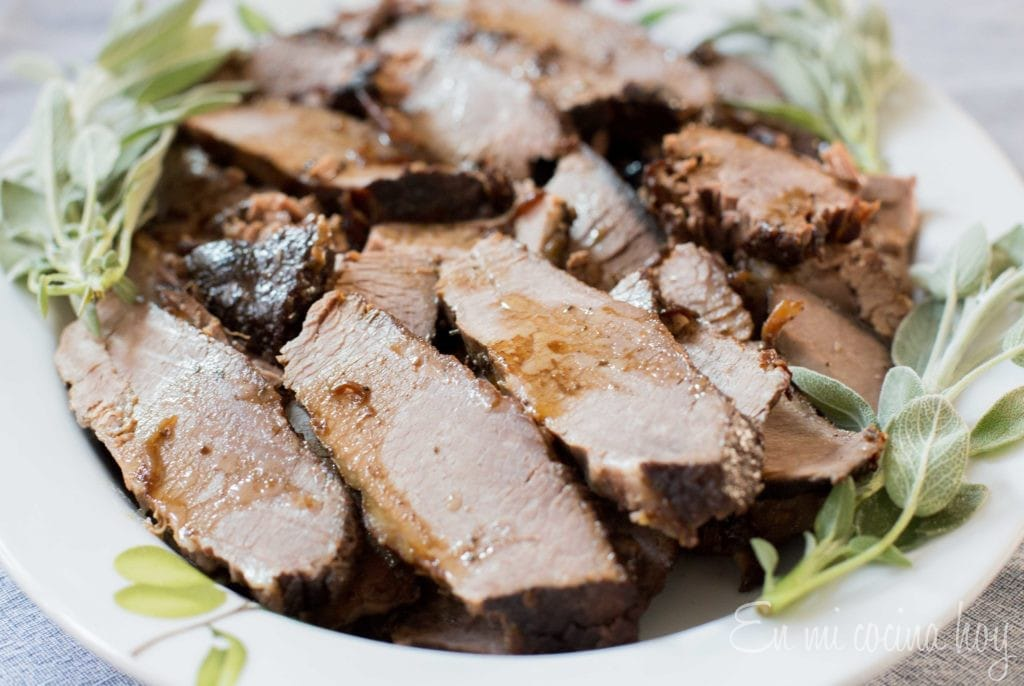 Honey and Wine Brisket