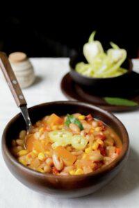 """Chilean Summer Bean Soup """"Porotos Granados"""""""