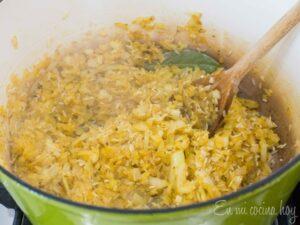 Onion browning