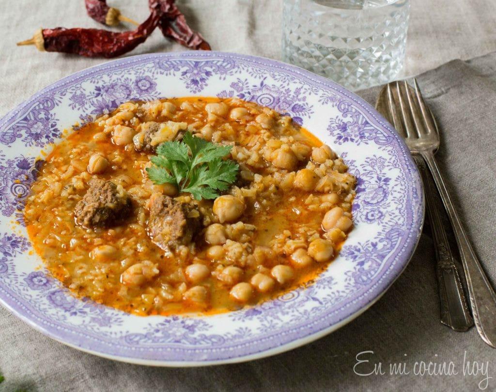 Chilean Chickpea Soup