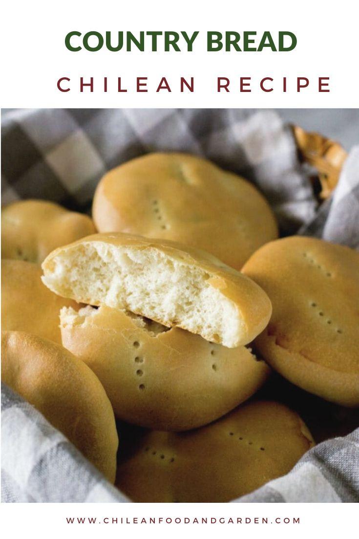 Chilean Country Bread Pan Amasado