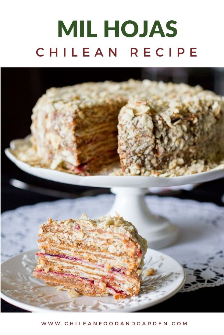 Chilean Thousand Layer Cake