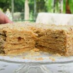 "Chilean Thousand Layers Cake ""Mil Hojas"""