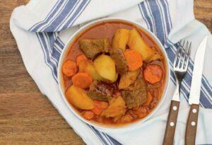 Chilean Estofado Beef Stew