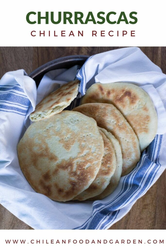 Churrascas, Chilean stovetop bread