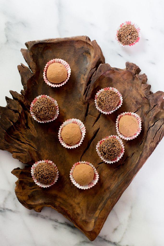 Brigadeiros, Brazilian truffles