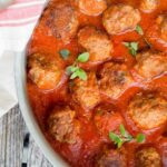 Easy Meatballs with Tomato Sauce