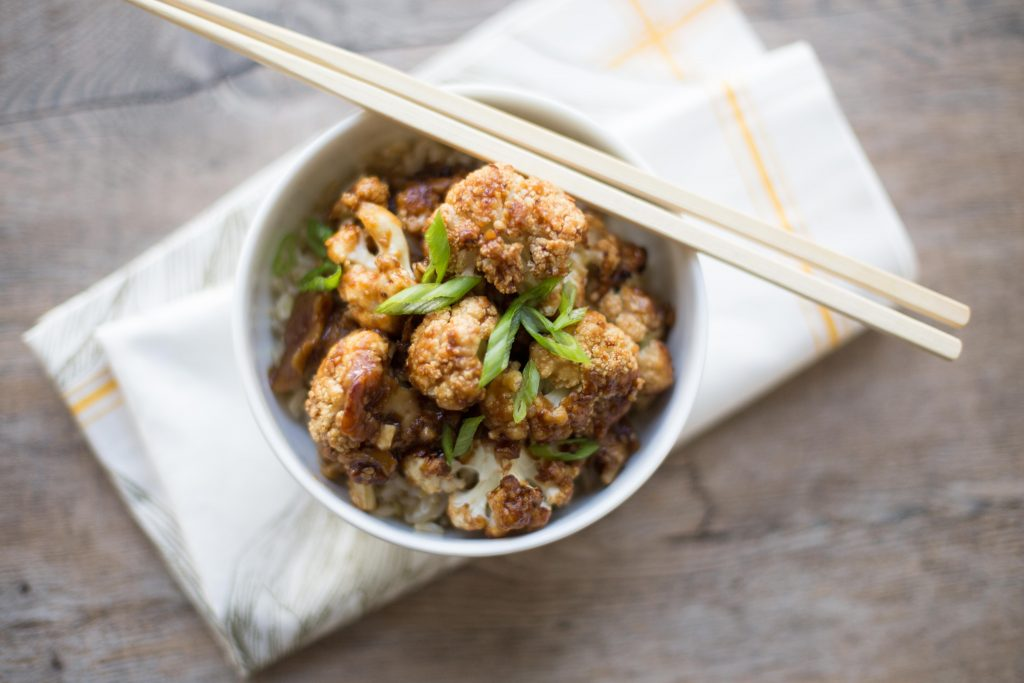 Sesame Chinese Cauliflower
