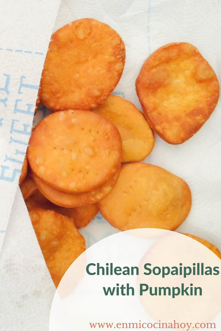 Chilean Sopaipillas with Pumpkin