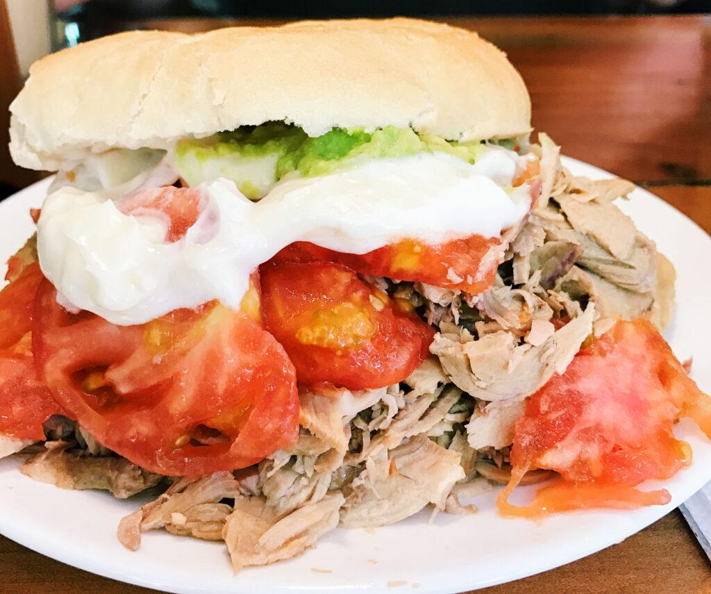 Lomito, Chilean Sandwich
