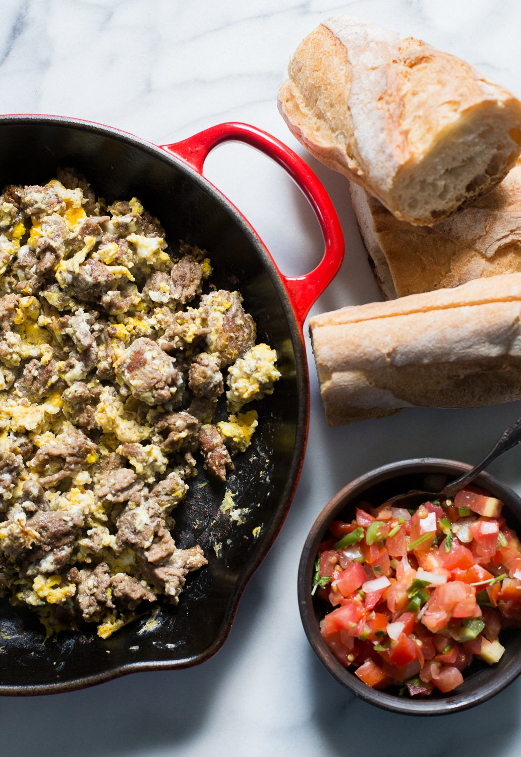 Ground Beef Breakfast Scramble
