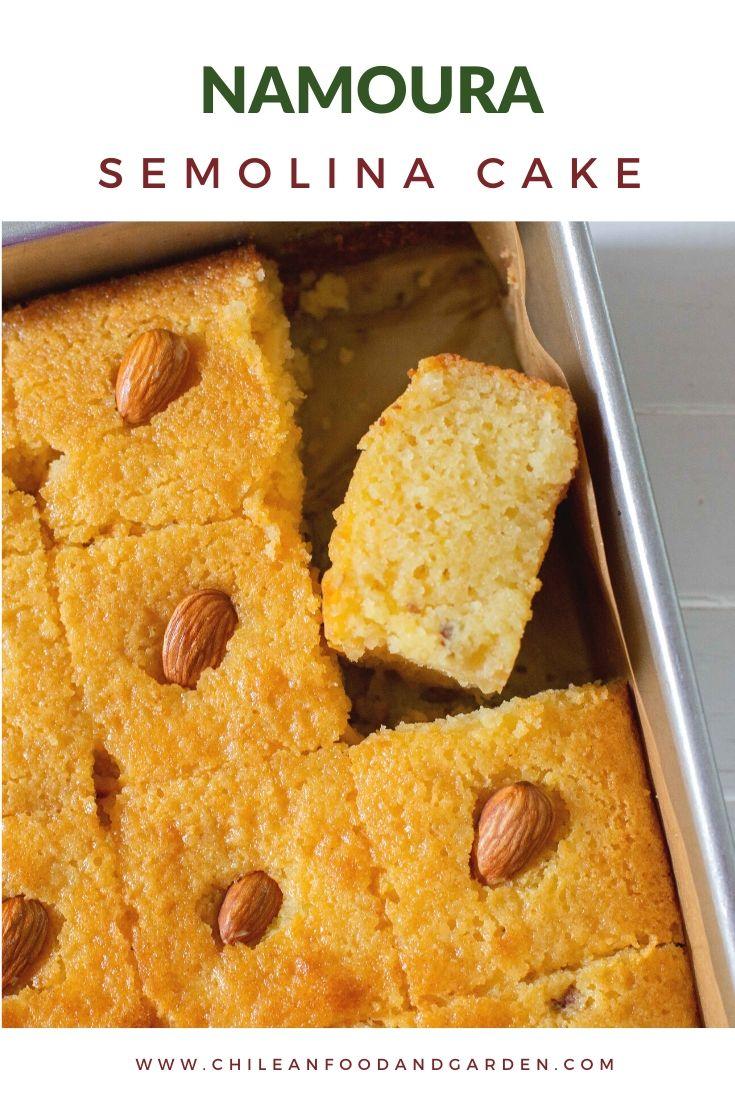 Namoura Semolina Cake