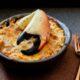Stone crab chilean casserole Pastel de Jaiba