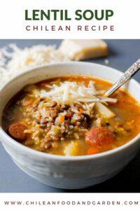 Chilean Lentil Soup